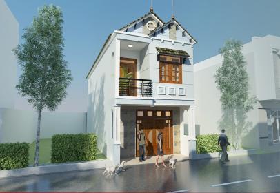 Bộ sưu tập mẫu thiết kế nhà phố 1 trệt 1 lầu đẹp