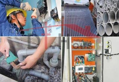 Dịch vụ sửa chữa bảo trì hệ thống điện nước nhà dân dụng, văn phòng