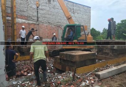 Dự án xây nhà 1 trệt 1 lầu, Ấp 4, Bình Chánh, TP HCM