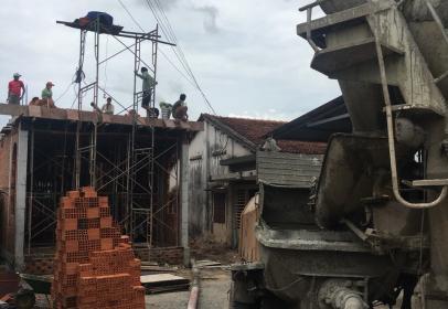 Dự án xây nhà một trệt, một lầu, mái ngói, Đức Hòa, Long An