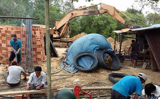 Xây dựng nhà phố Anh Khải, Nguyễn Ảnh Thủ, Quận 12