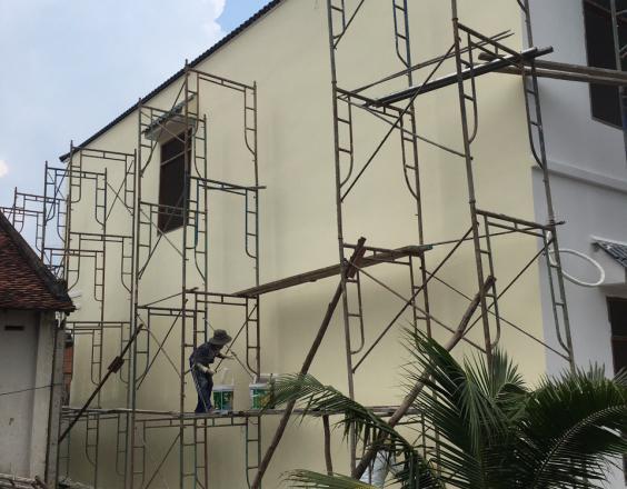 Một số lỗi cần phải tránh khi sơn nhà