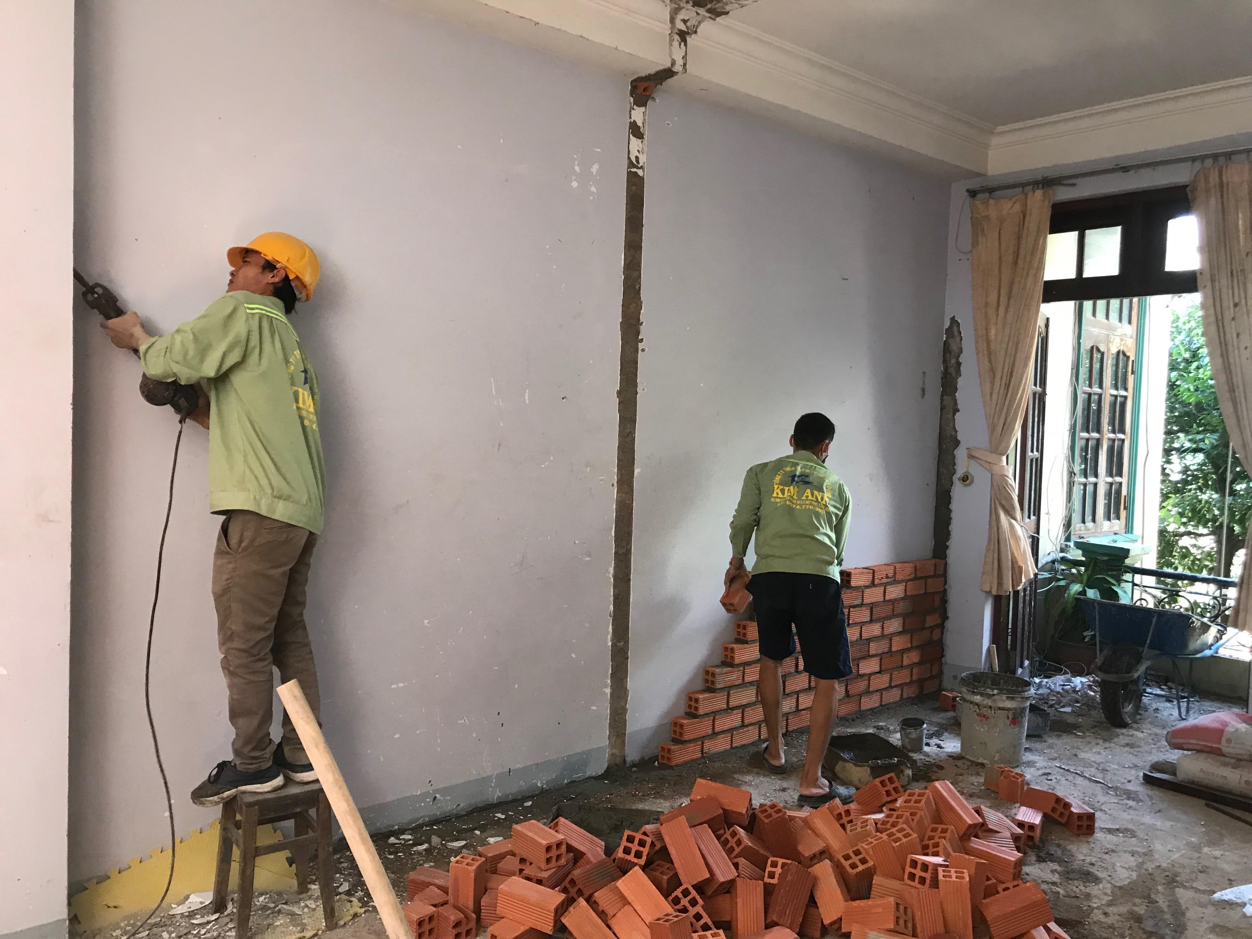Dịch vụ thợ sửa chữa nhà tại quận Gò Vấp